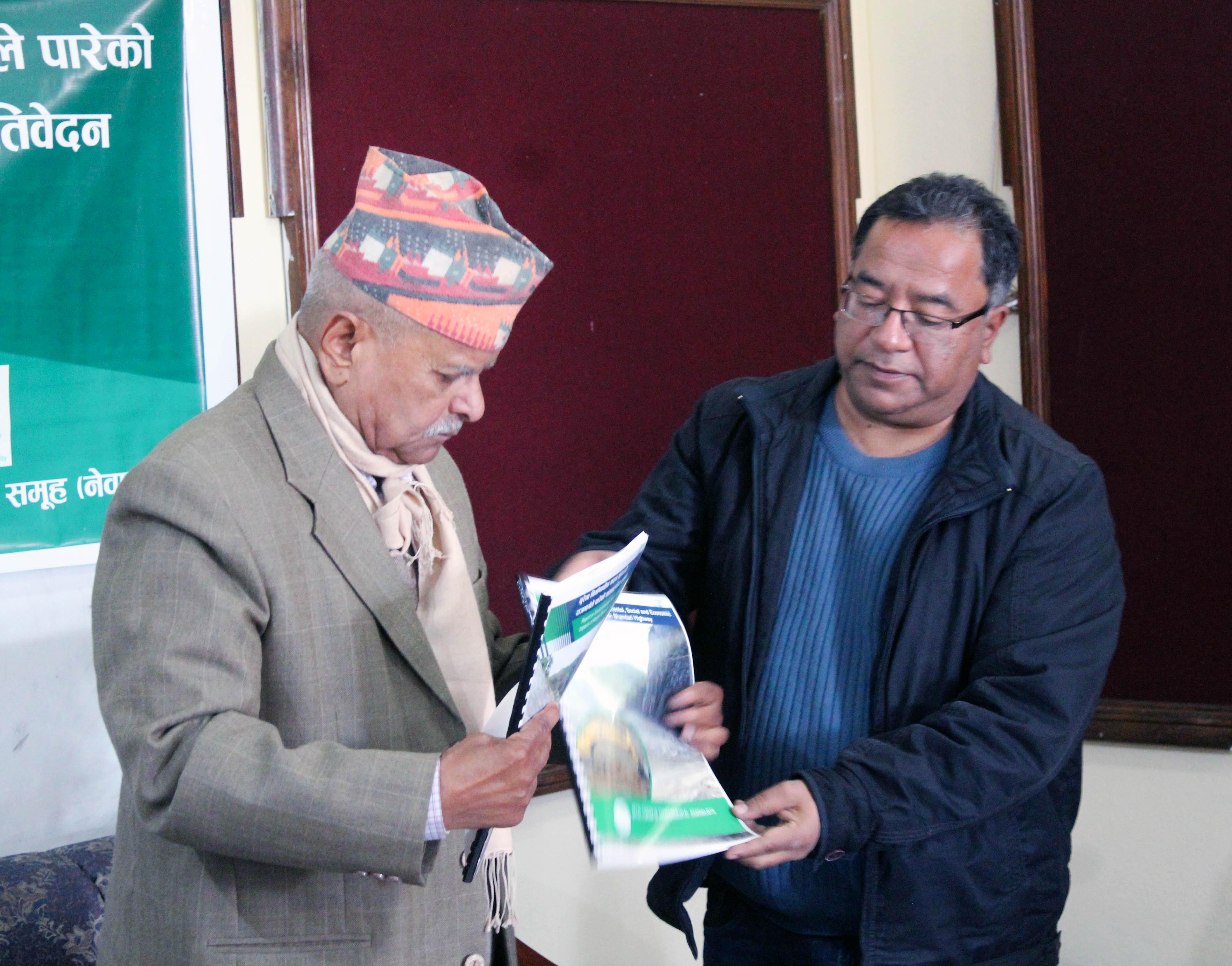 चुरेको छातीमा डोजर चलाउन बन्द गरौंः पुर्वराष्ट्रपति यादव